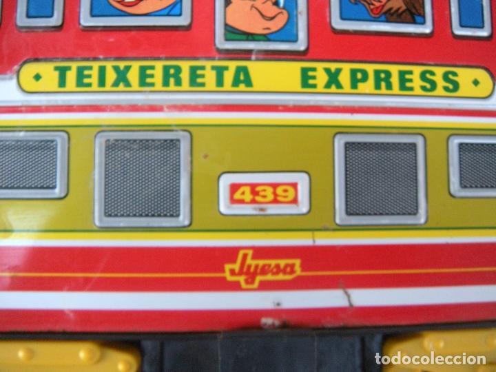Juguetes antiguos Jyesa: TRANVÍA TEIXERETA ESPRESS 439 JYESA. IBI - Foto 6 - 94675351