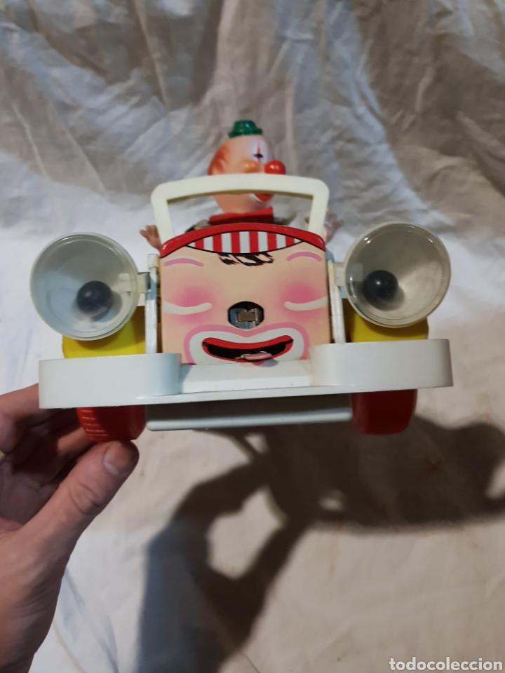 Juguetes antiguos Jyesa: Antiguo coche de juguete de payaso jyesa - Foto 5 - 111178687
