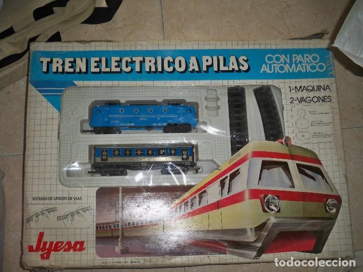 TREN JYESA RENFE JS9779 MAQUINA VAGONES Y VIAS JS 9779 segunda mano