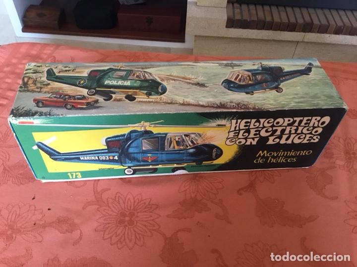 Juguetes antiguos Jyesa: HELICÓPTERO ELÉCTRICO JYESA REF. 172 - Foto 4 - 112312308