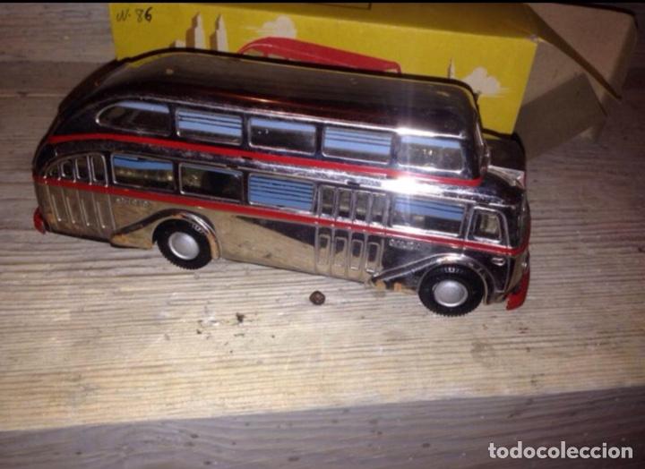 Juguetes antiguos Jyesa: Autobús jyesa 1950 original,nuevo - Foto 2 - 132102581