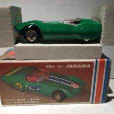 Juguetes antiguos Jyesa: COCHE JYESA 980 GT JARAMA AÑOS 70 SIN USO ALGUNO. Lote 125098331