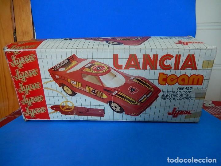 Juguetes antiguos Jyesa: Lancia Team. Jyesa. Ref. 423. - Foto 46 - 122290695