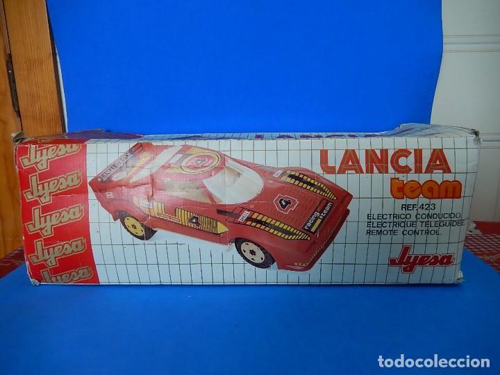 Juguetes antiguos Jyesa: Lancia Team. Jyesa. Ref. 423. - Foto 47 - 122290695