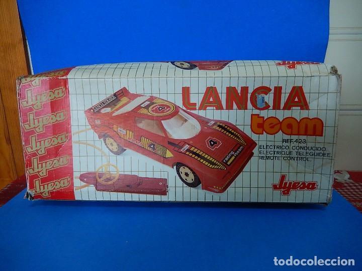 Juguetes antiguos Jyesa: Lancia Team. Jyesa. Ref. 423. - Foto 48 - 122290695