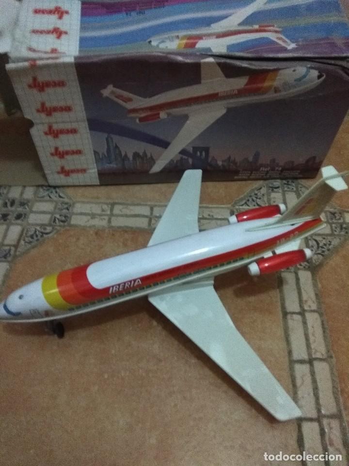 Juguetes antiguos Jyesa: Avión de Iberia - Foto 2 - 128587379