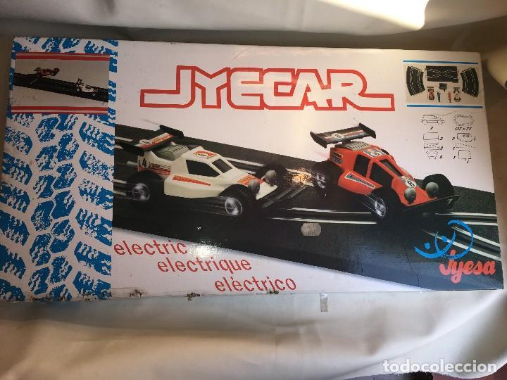 PISTA CIRCUITO SLOT CAR DE JYESA (Juguetes - Marcas Clásicas - Jyesa)
