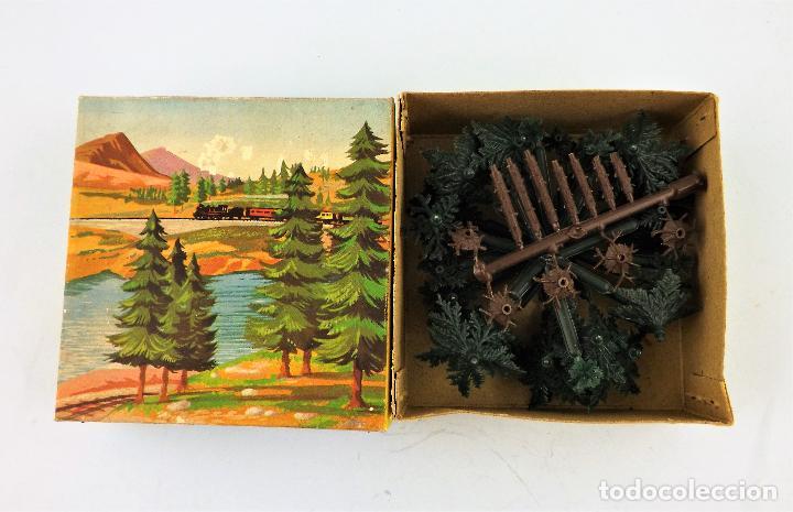 Juguetes antiguos Jyesa: Jyesa 2029 Caja con abetos - Foto 3 - 267858994