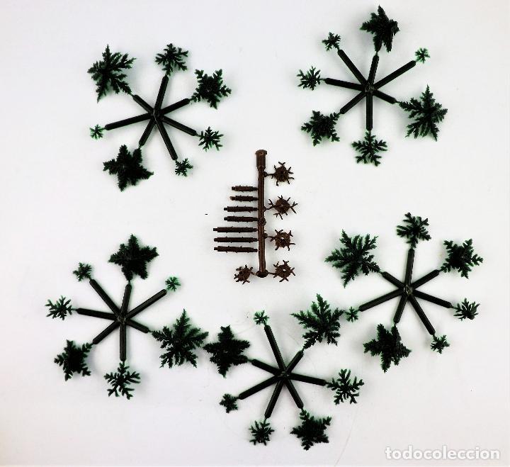 Juguetes antiguos Jyesa: Jyesa 2029 Caja con abetos - Foto 4 - 267858994