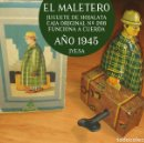 Juguetes antiguos Jyesa: 1945. JYESA. EL MALETERO. HOJALATA. FUNCIONA A CUERDA. CAJA 266. Lote 120286691