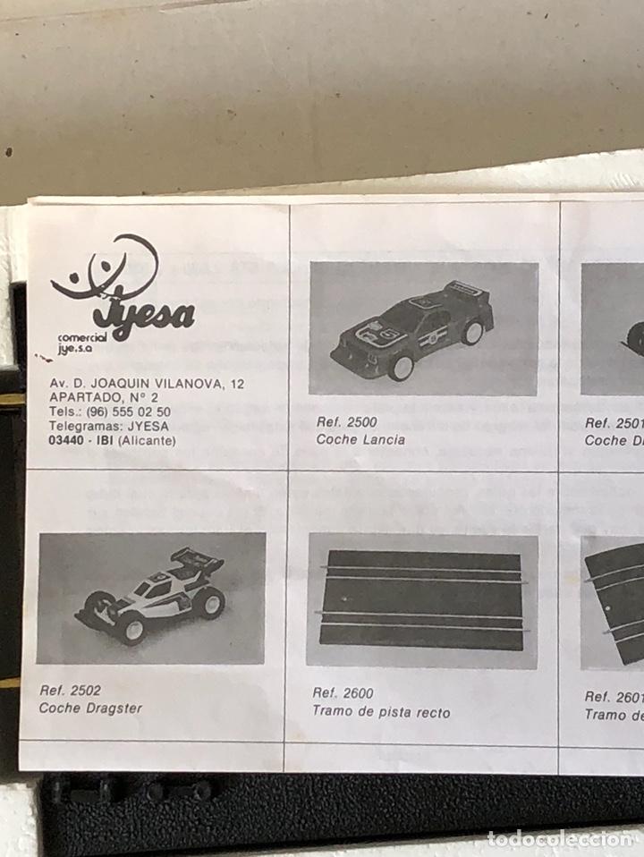 Juguetes antiguos Jyesa: Bonito excalextrix jygesa - Foto 7 - 137816858