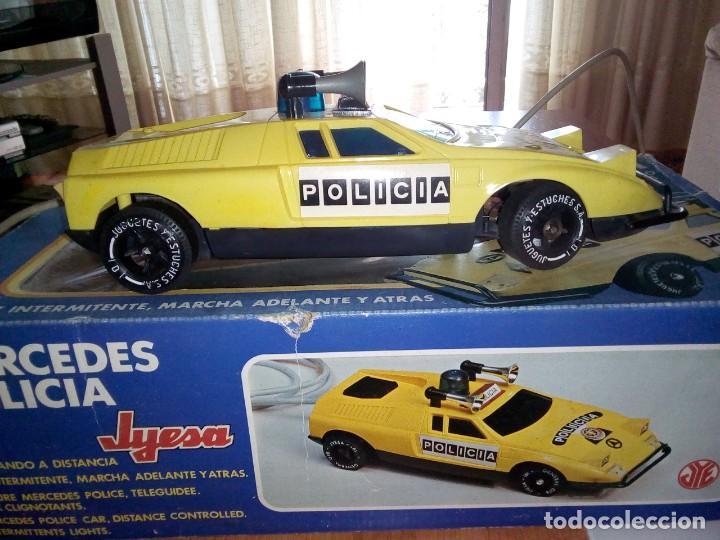 COCHE POLICÍA JYESA (Juguetes - Marcas Clásicas - Jyesa)
