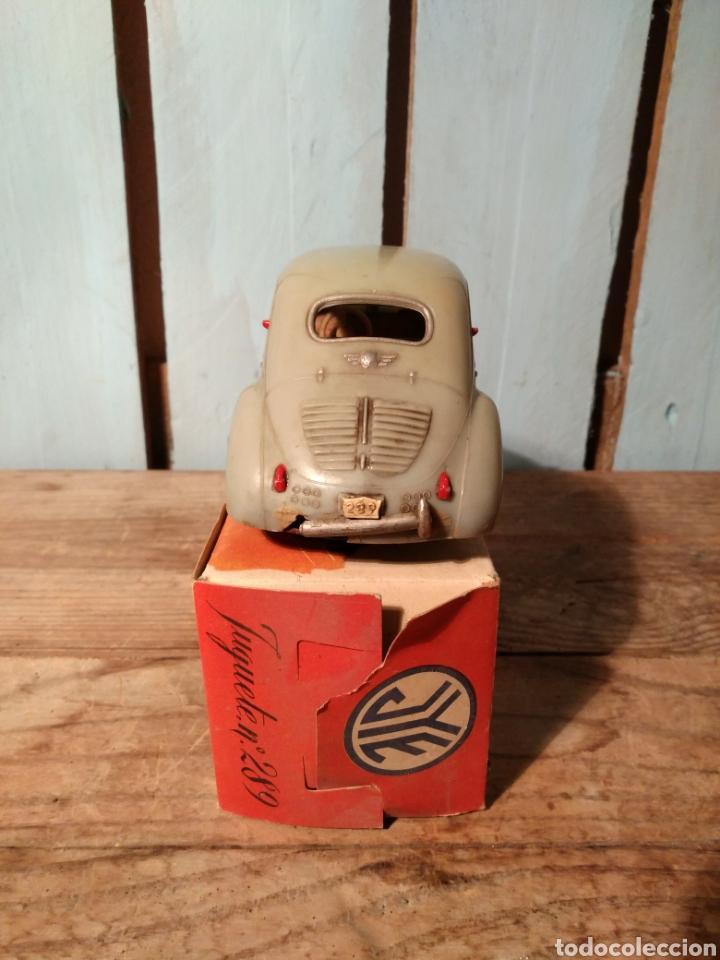 Juguetes antiguos Jyesa: Renault 4/4 Jyesa con caja original años 50 / 4-4 - Foto 3 - 141607080