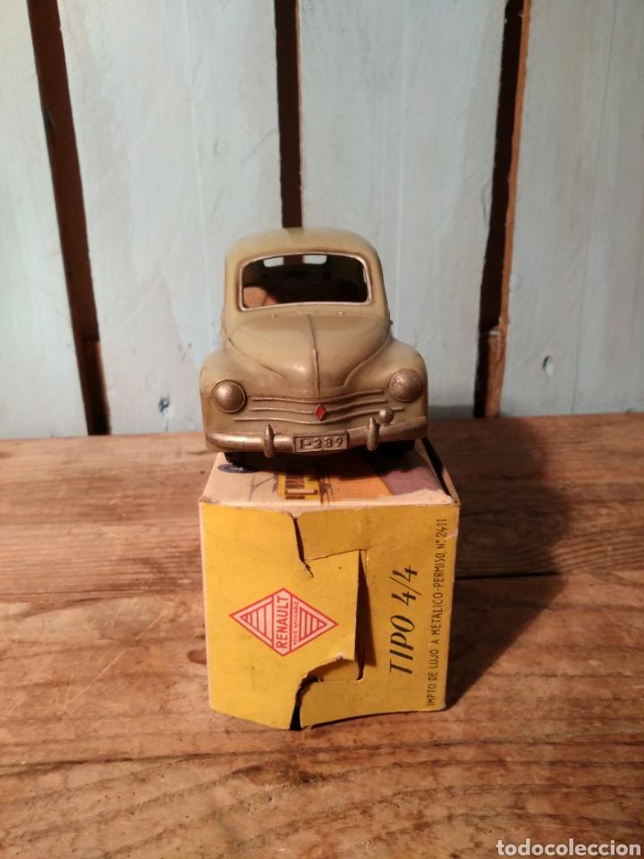 Juguetes antiguos Jyesa: Renault 4/4 Jyesa con caja original años 50 / 4-4 - Foto 4 - 141607080