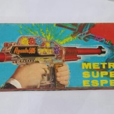 Juguetes antiguos Jyesa: JYE METRALLETA SUPER ESPECIAL. NUEVO EN CAJA. AGENTE 505. FUNCIONA.JUGUETE REF 303.AÑOS 70-80? JYESA. Lote 142285620