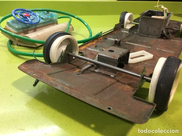 Juguetes antiguos Jyesa: Chasis, mando y eje ruedas de dodge de jyesa,repuestos y piezas,rico,Paya,sanchis,joustra - Foto 2 - 149762690