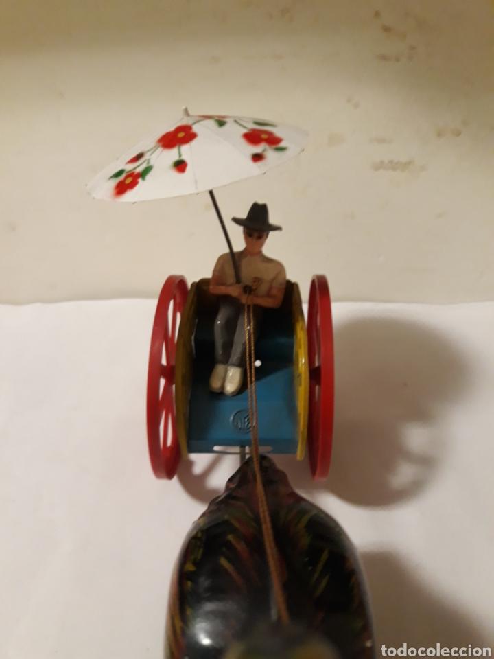 Juguetes antiguos Jyesa: JYESA AVESTRUZ CON CARRITO - Foto 4 - 166800113