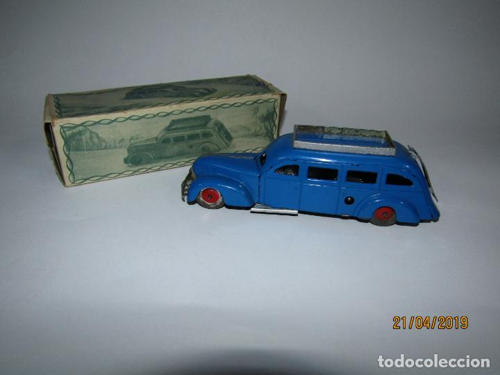 Juguetes antiguos Jyesa: Antiguo Autobús GUAGUA a Cuerda en Chapa Pintada y Hojalata Ref. 251 de JYE JYESA Como Nuevo - Foto 3 - 160890506