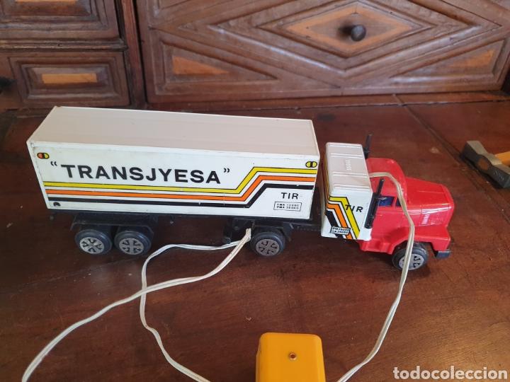 Juguetes antiguos Jyesa: Camión trailer Jyesa de mando - Foto 2 - 166795266