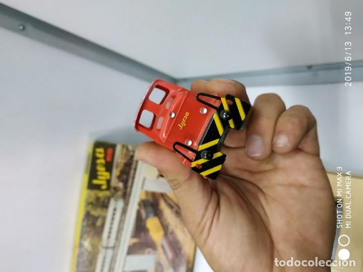 Juguetes antiguos Jyesa: juego de trenes jyesa H0 en caja nunca jugado perfecto estado de coleccion locomotora vias trenes - Foto 32 - 167887476