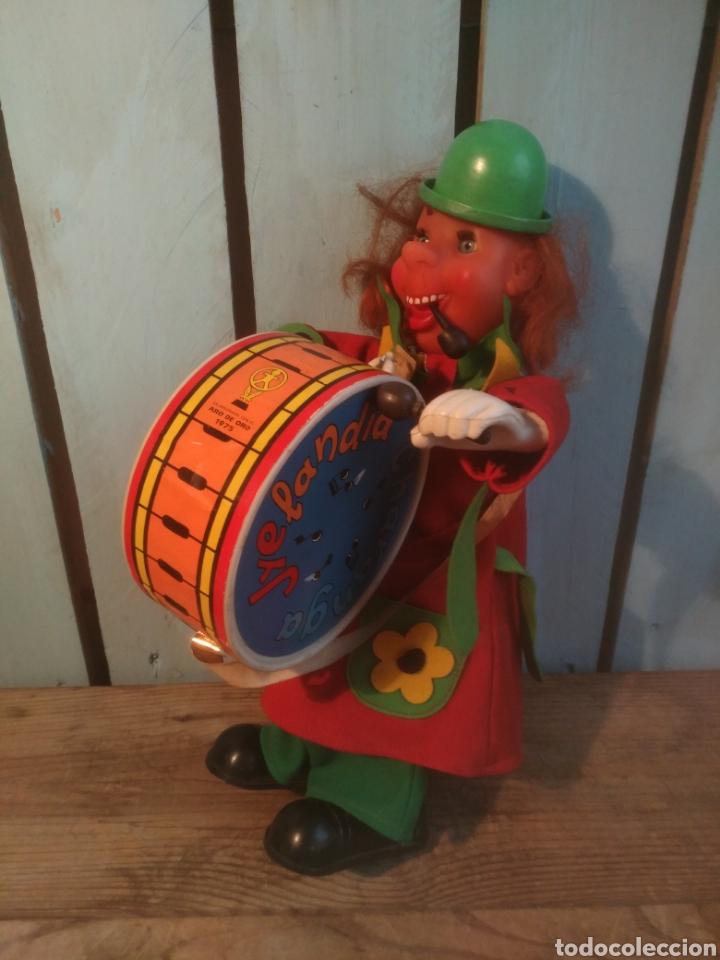 Juguetes antiguos Jyesa: Juguete payaso charanga jyelandia IBI Jeysa - Foto 3 - 168248389