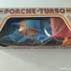 Juguetes antiguos Jyesa: PORCHE TURBO TELEDIRIGIDO, ELÉCTRICO CONDUCIDO. DE JYESA.. Lote 169384252