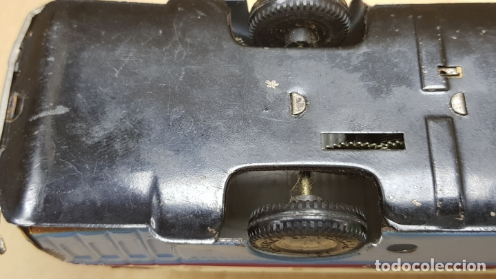 Juguetes antiguos Jyesa: MAGNIFICO AUTOBUS DE 2 PISOS DE JYESA DE HOJALATA IBI-VALENCIA - Foto 9 - 171486990