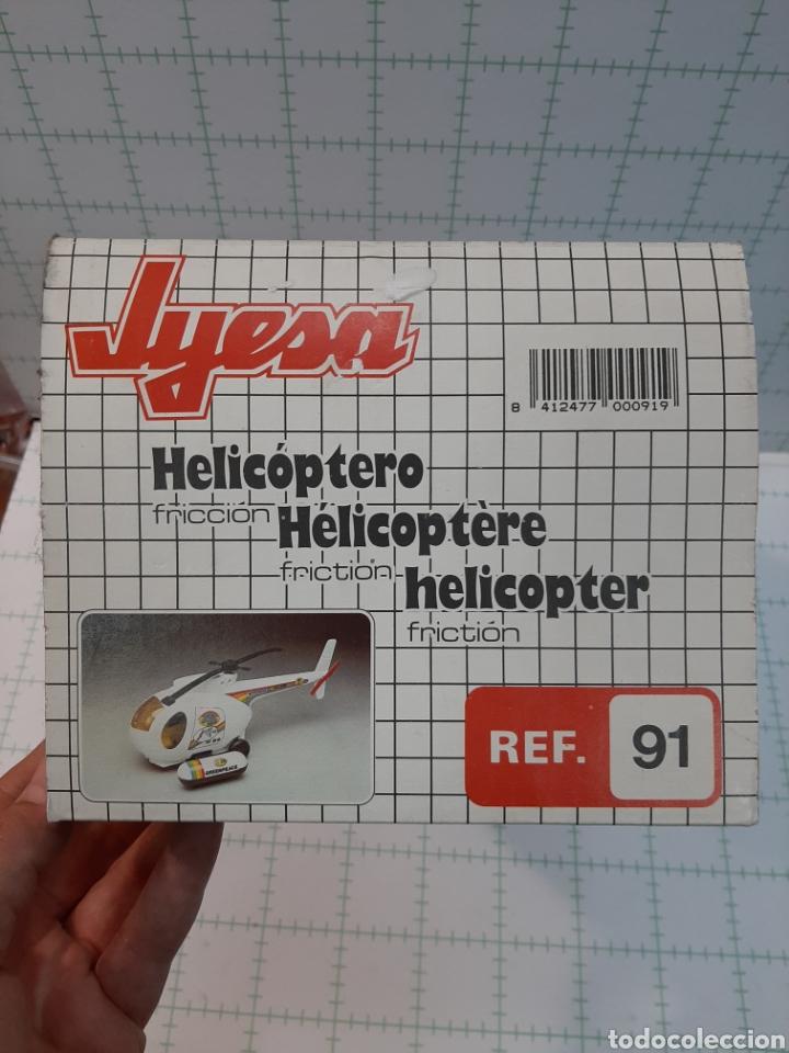 Juguetes antiguos Jyesa: Helicóptero JYESA - Foto 2 - 175630923