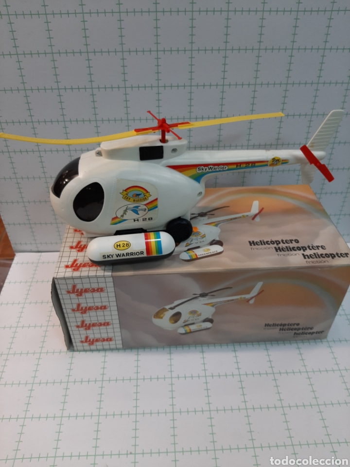 Juguetes antiguos Jyesa: Helicóptero JYESA - Foto 4 - 175630923
