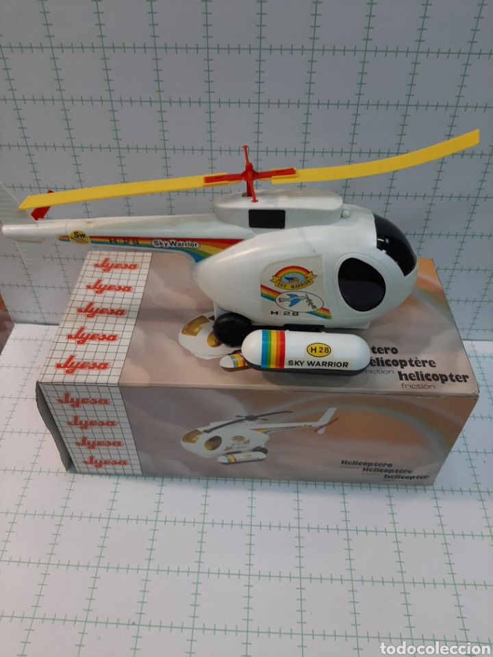 Juguetes antiguos Jyesa: Helicóptero JYESA - Foto 5 - 175630923