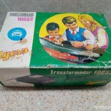 Juguetes antiguos Jyesa: JYESA TRANSFORMADOR 10052 PARA PISTAS DE CARRERAS DE AUTOMOVILES JUGUETES JUGUETE * PERFECTO *. Lote 178361627