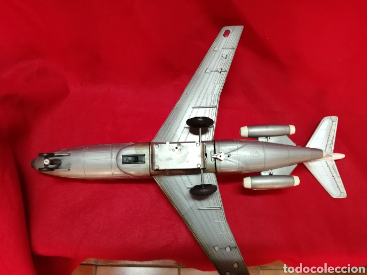 Juguetes antiguos Jyesa: Avión iberia a pilas años 60-70, JYE. - Foto 5 - 178759507