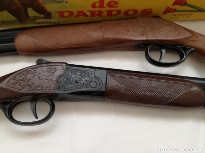 Juguetes antiguos Jyesa: Dos Rifles Dardos Jyesa años 60. - Foto 3 - 182699608