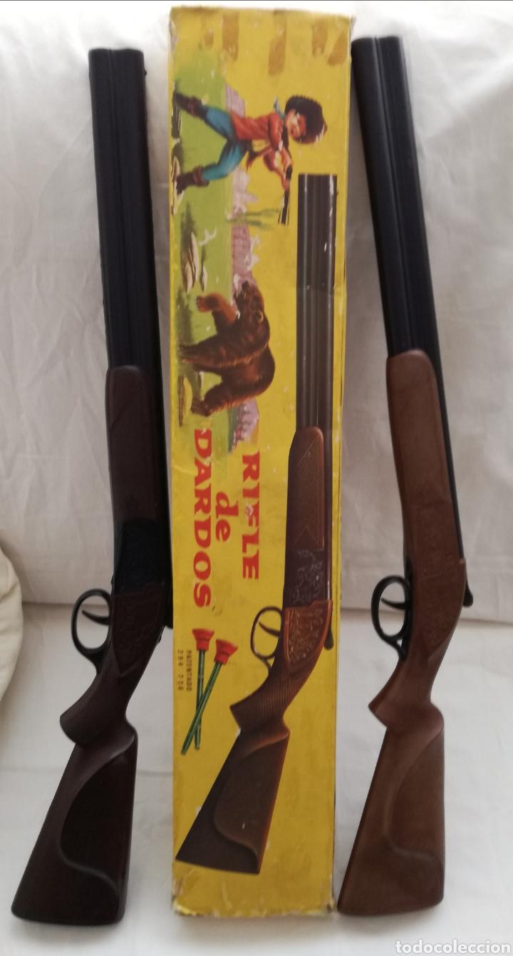 Juguetes antiguos Jyesa: Dos Rifles Dardos Jyesa años 60. - Foto 4 - 182699608