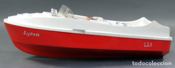 Juguetes antiguos Jyesa: Barca lancha Jyesa 234 plástico años 60 - Foto 2 - 184447292