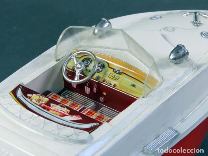 Juguetes antiguos Jyesa: Barca lancha Jyesa 234 plástico años 60 - Foto 5 - 184447292