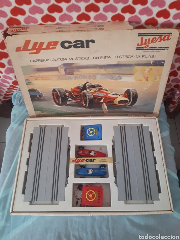 SCALEXTRIC JYESA JYE CAR 7000 (Juguetes - Marcas Clásicas - Jyesa)