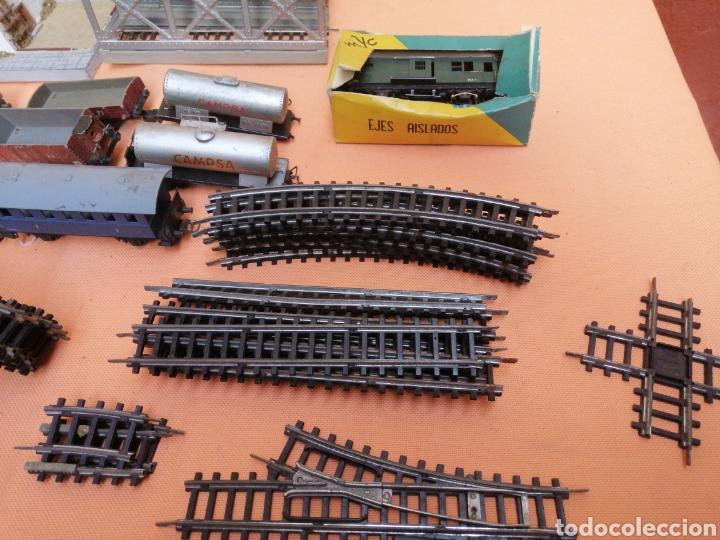 Juguetes antiguos Jyesa: Trenes y pistas - Foto 10 - 193942165