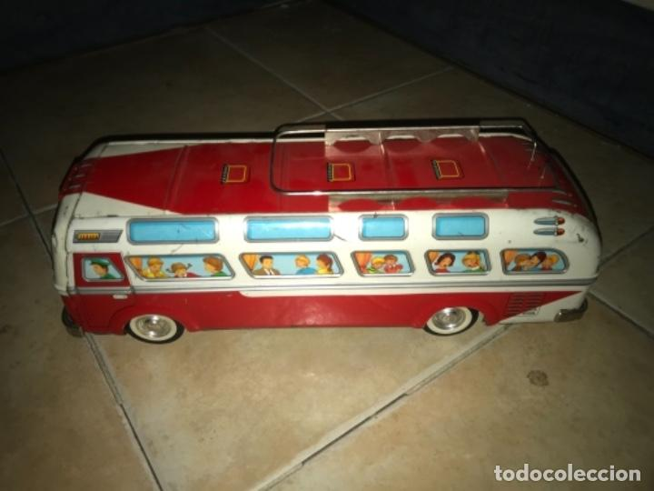 Juguetes antiguos Jyesa: Autobús EGE CHAPA FRICCIÓN AÑOS 60 70 - Foto 11 - 194266965