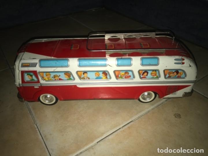 Juguetes antiguos Jyesa: Autobús EGE CHAPA FRICCIÓN AÑOS 60 70 - Foto 12 - 194266965