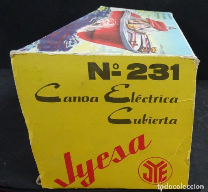 Juguetes antiguos Jyesa: JYESA CANOA ELECTRICA REF 230 - Foto 6 - 194346798