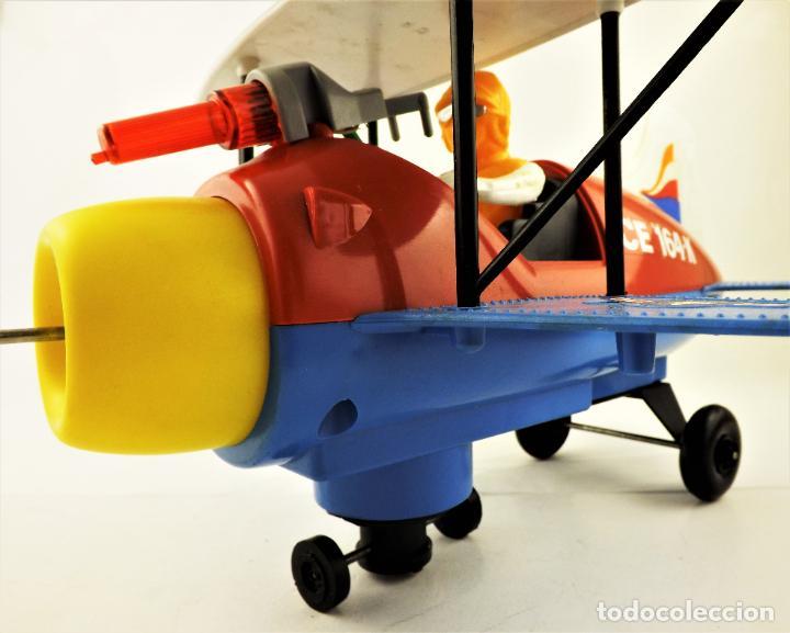 Juguetes antiguos Jyesa: Jyesa Avion fantasía biplano (Restaurar) - Foto 3 - 196170151