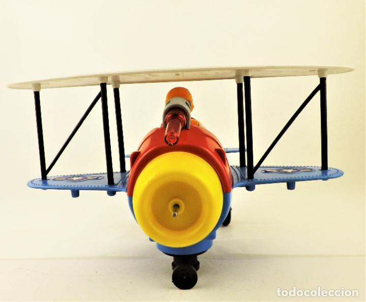 Juguetes antiguos Jyesa: Jyesa Avion fantasía biplano (Restaurar) - Foto 4 - 196170151