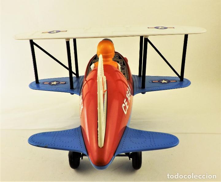Juguetes antiguos Jyesa: Jyesa Avion fantasía biplano (Restaurar) - Foto 5 - 196170151