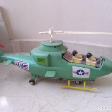 Juguetes antiguos Jyesa: ANTIGUO HELICOPTERO HOJALATA DE JUGUETE JYE US ARMY. Lote 208574015