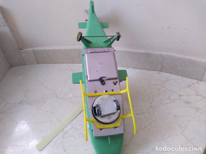 Juguetes antiguos Jyesa: Antiguo helicoptero hojalata de juguete Jye US Army - Foto 3 - 208574015
