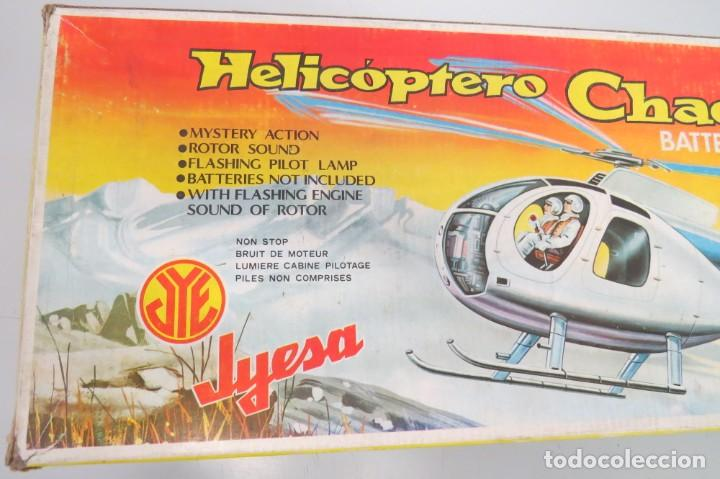 Juguetes antiguos Jyesa: HELICOPTERO CHACAL 500 - JYESA 182 - CUERPO BOMBEROS - PROVIENE ANTIGUA JUGUETERIA - Foto 29 - 210234475