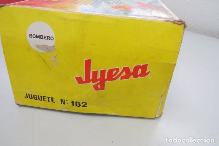 Juguetes antiguos Jyesa: HELICOPTERO CHACAL 500 - JYESA 182 - CUERPO BOMBEROS - PROVIENE ANTIGUA JUGUETERIA - Foto 36 - 210234475