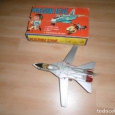 Juguetes antiguos Jyesa: JYESA Nº 108. HALCON AZUL. COMPLETO, CON CAJA Y FUNCIONANDO. F-111A U.S AIRFORCE. Lote 211425895