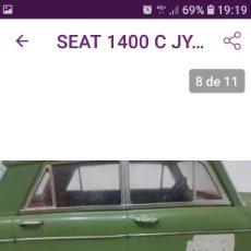 Juguetes antiguos Jyesa: SEAT 1400 JYESA. Lote 211501055
